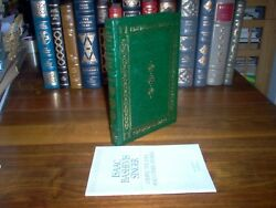 Franklin Library..gimpel The Fool By Isacc Bashevis Singer Signed