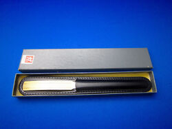 J.a. Henckels Vtg Letter Opener Gold Plated Handle 1960's Made In Germany Unused