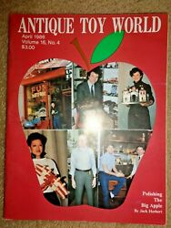 1986 Antique Toy World Magazine Pedal Cars Perfection Registering Bank Dc-3 Auto
