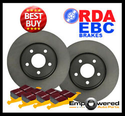 FRONT DISC BRAKE ROTORS + PADS for Ford Mustang FM 5.0L GT *Brembo* 8/2014-2017