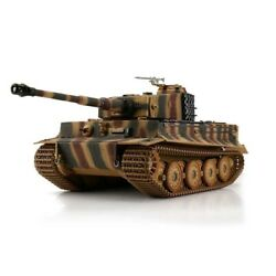 116 Torro German Tiger I Late Rc Tank Airsoft 2.4ghz Hobby Edition Camouflage