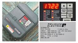 Reliance Electric Gv3000/se 7.5 Hp 7v4160 Firmware 6.01 Ac Drive Tested Good
