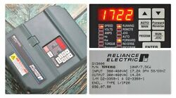 Reliance Electric Gv3000/se 10 Hp 10v4160 Drive Tested Good Clean Drive Frn6.03
