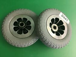 Rear Drive Wheel Assy For Invacare Zoom 220 Mobility Scooter Set Of 2 D441