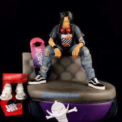 Iz One Piece Portgas·d· Ace Statue Street Fashion Ver. Painted Figure In Stock