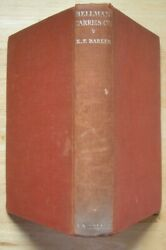 Bellman Carries On by K F Barker A amp; C Black 1st edition 1934 Hunting beagle