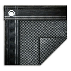 16' X 36' Rectangle In-ground Swimming Pool Mesh Winter Cover 10 Year - Gray