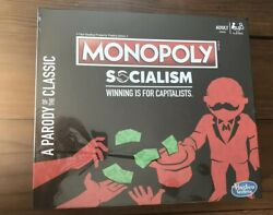 Monopoly Socialism Winning Is For Capitalists A Parody Of The Classic New Sealed
