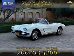 1962 Chevrolet Corvette Restored Convertible + Hard top n Soft top 1962 Chevrolet Corvette Restored for sale!