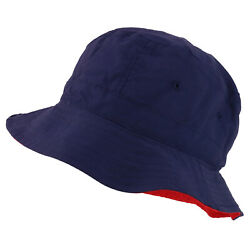 Quality Reversible Polyester Microfiber Bucket Hat Upto XXL FREE SHIPPING $18.99