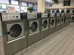 Wascomat 30lb Washer W125 Stainless Steel Laundromat Refurbished New Bearings