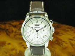 Longines Saint-imier Stainless Steel Automatic Menand039s Watch / Ref L2.753.4.72.0