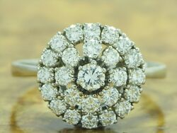 14kt 585 White Gold Ring With 210ct Brilliant Decorations/ Diamond/ 75g/ Rg