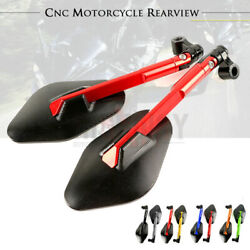 Octagon Rear View Side Rearview Mirrors For Suzuki Gsf650 Gsf1250 Bandit 650s