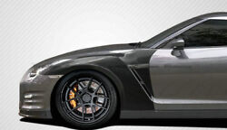 For Nissan Gtr R35 2017 My17 Carbon Oe Front Fender Part Refit Without Air Vents