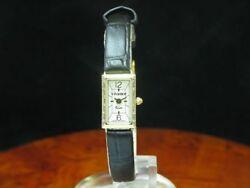 Vivance 9kt 375 Gold Womenand039s Watch With Brilliant Decorations/caliber Ronda 732