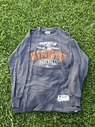 MAJESTIC AUTHENTIC COLLECTION MLB SAN FRANCISCO GIANTS LONG SLEEVE MEN VNTG
