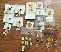 Lot Of 36 Vintage Bowling Awards Pins Medals Badge Club 200 500 High Indiana