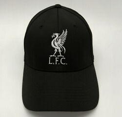Liverpool FC Black Baseball Hat with embroidered Logo Free Worldwide shipping