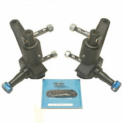 Vw 3 Inch Raised Heavy Duty Combo Spindle Kit For International Tie Rod Ends