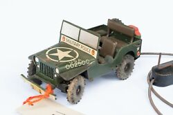 Arnold Us Zone Germany - Tin Toy Crank-driven