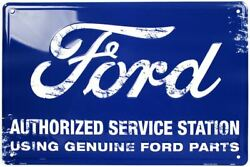 Sign - Ford Authorized Service Station