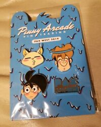 Brand New Pax West 2019 Limited Edition Pin Pinny Arcade Pin Set