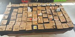 Honda Parts Lot Nos Seal Gaskets Shafts Pins Jets Clutch Disc 100and039s Of Parts Oem