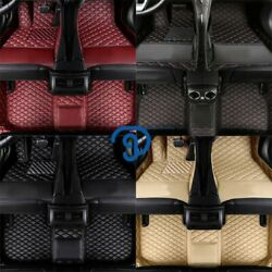 Fit For Infiniti G37 20082013 Leather Car Floor Mats Waterproof