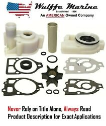 Water Pump Impeller Kit And Housing 1 Pre-alpha Mercruiser Drive And03970-84 18-3317