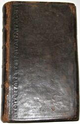 Leather The Whole Duty Of Man Printed 1686 Religion Bible Original Binding