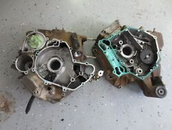 2011 Can Am Outlander 500 Ps 4x4 Atv Empty Pair Of Matching Crank Case Crankcase