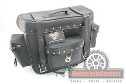 Vance Leather Saddle Bag Pack Tour Motorcycle