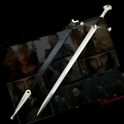 51 Lord Of The Rings Anduril The Sword Of Aragon Holy Sword Steel Blade 0009