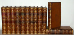 Leather Sethenry Fielding Workslibrary Gorgeous Antiquarian Complete Rare1824