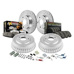 For Toyota Tundra 03-06 Brake Kit Power Stop Z36 Evolution Drilled And Slotted