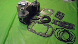 447 Rotax Aircraft Engine Piston Top End Rebuild Kit Std W Bearings And Gaskets