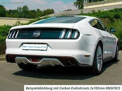 Remus Complete System + Optional Flap Andoslash2.99in Ford Mustang 6 Vi 2.3 2x102 Carbon