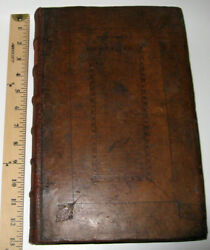 LEATHER;HISTORY QUAKERS!Bible SEWELL(FIRST EDITION! 1722)MASSIVE FOLIO!RARE Gift