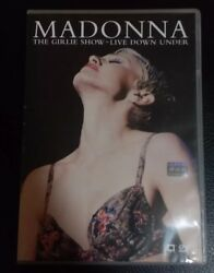 Madonna - The Girlie Show - Live Down Under Dvd 1997 Last One Rare Show