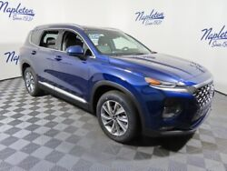 2020 Hyundai Santa Fe SEL 2.4 2020 Hyundai Santa Fe SEL 2.4 9 Miles Stormy Blue 4D Sport Utility 2.4L 4-Cylind