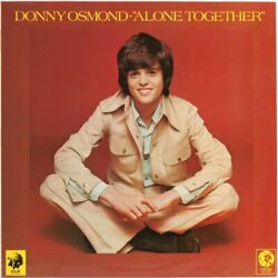 Donny Osmond , Alone Together  Vinyl Record Used