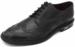 Dolce And Gabbana Man Dress Shoes Business Derby Francesina Classic Code A10421