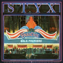 Styx Paradise Theatre Banner Huge 4x4 Ft Fabric Poster Tapestry Flag Album Cover