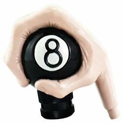 Car Gear Knob Autotrends Universal Pink Hand Eight Ball Manual Transmission