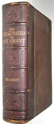 Leathermemoirs Of Ulysses Grant First Edition 1879civil War Personal Travel