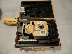 Topcon Et-1 Total Station Degital W/ Data Collector And Other Accessories