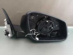 Bmw 3er F30 F31 Exterior Mirror Right Sideview Mirror Black Dimming Memory