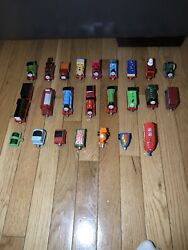 Vintage Learning Curve Thomas And Friends Toys Lot Limited 2002-2006 24 Pieces