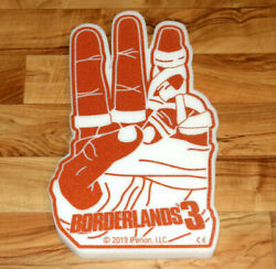Borderlands 3 Rare Promo Foam Hand Collectible Ps4 Xbox One Playstation 4